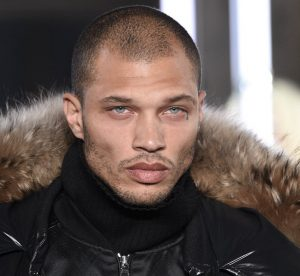 Jeremy Meeks walks for Philipp Plein